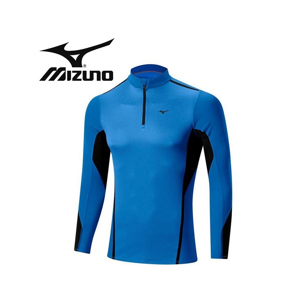 Maillot thermique MIZUNO VB Fusion H/Z Bleu Hommes