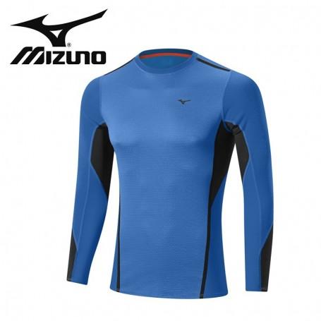 Maillot thermique MIZUNO VB Fusion Crew Bleu Hommes