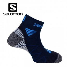 Chaussettes de Trail/Running SALOMON Hornet Midnight Blue/MethyBlue/Black Unisexe