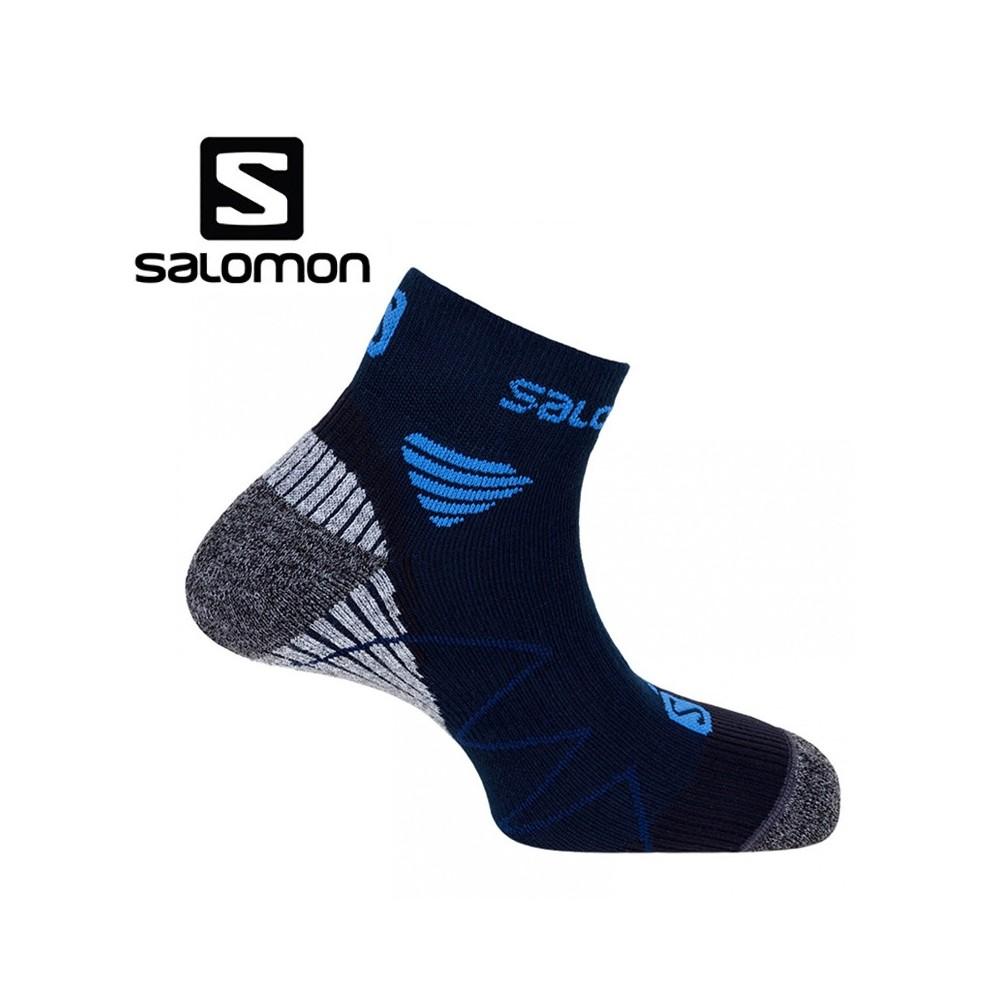 Chaussettes de Trail/Running SALOMON Hornet Midnight Blue/MethyBlue/Black Unisexe