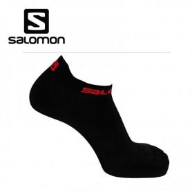 Chaussettes de Trail/Running SALOMON S-Lab Sense Black/Red Unisexe