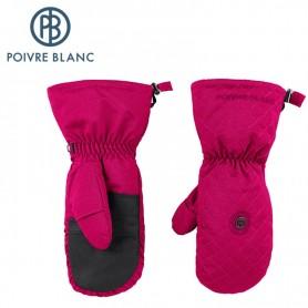 Moufles de ski POIVRE BLANC MAUVE Femme