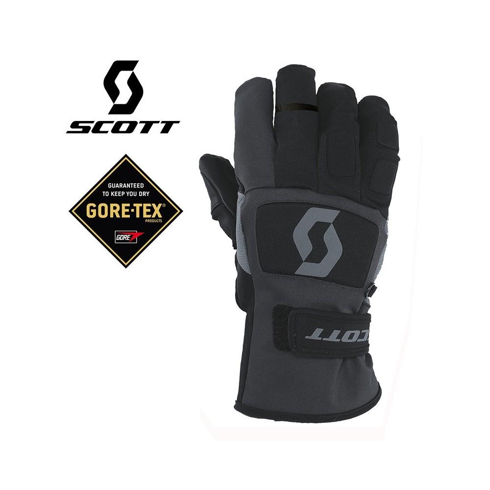 Gants de ski Gore-Tex SCOTT Mnt Tech 40 Noir Unisexe