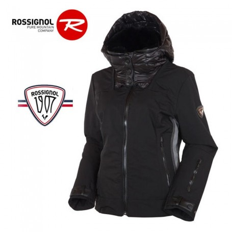 veste de ski rossignol 1907 aheli noir femme sport a. Black Bedroom Furniture Sets. Home Design Ideas