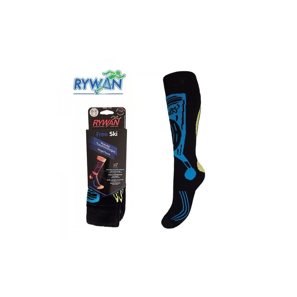 Chaussettes de ski  RYWAN Galaxy Noir Unisexe