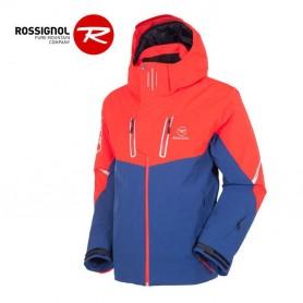 Veste de ski ROSSIGNOL Leader II Rouge / Bleu Homme