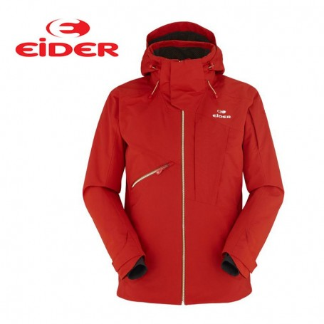 veste de ski eider la grave jacket brique homme sport a. Black Bedroom Furniture Sets. Home Design Ideas