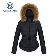 Blouson de ski POIVRE BLANC JRGL/B Ski Jacket Noire Fille