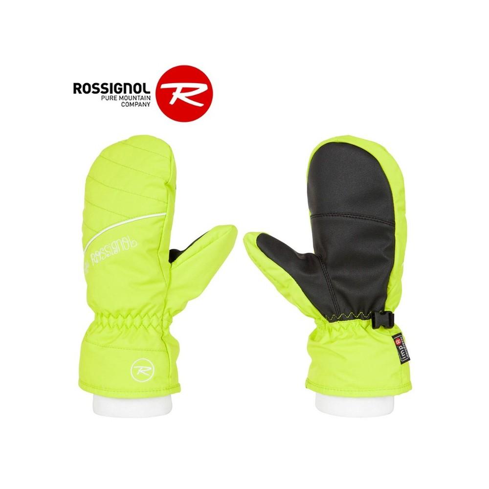 Moufles de ski ROSSIGNOL Kony ImpR Citron Filles