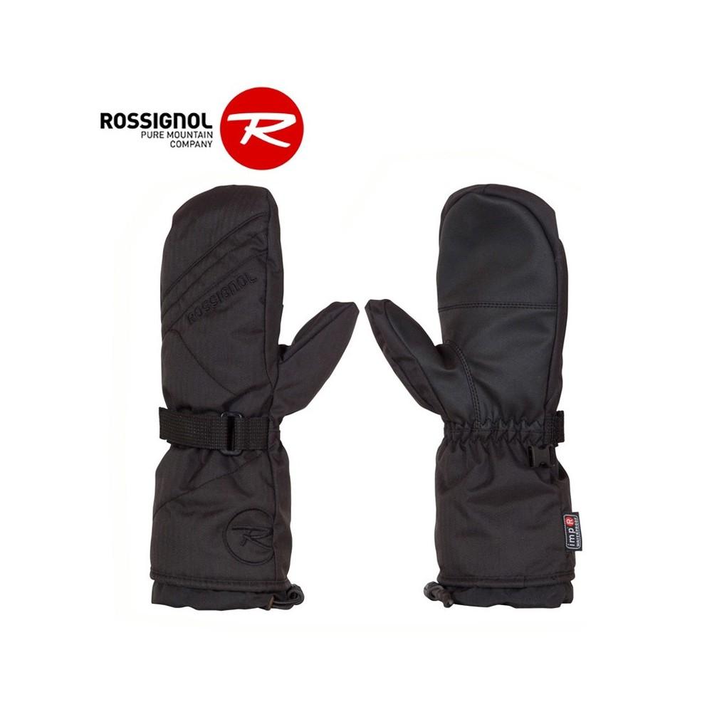 moufles de ski rossignol free impr noir junior sport a. Black Bedroom Furniture Sets. Home Design Ideas