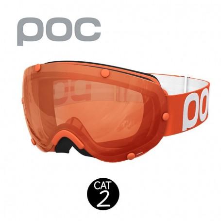 Masque de ski POC Lobes Orange Unisexe Cat.2