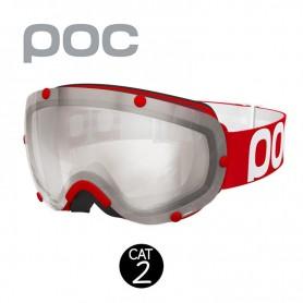 Masque de ski POC Lobes Rouge Unisexe Cat.2