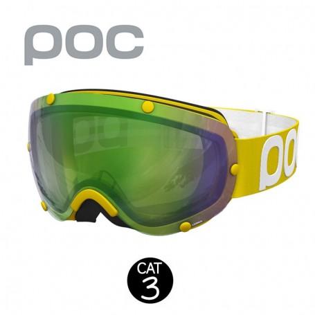 Masque de ski POC Lobes Jaune Unisexe Cat.3
