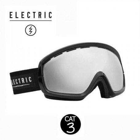 Masque de ski ELECTRIC EGB2S Noir Cat.3