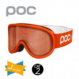 Masque de ski POC Pocito Retina Orange Junior Cat.2