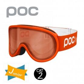 Masque de ski POC Pocito Retina Orange Junior Cat.2