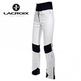 Pantalon de ski LACROIX Aspen Blanc Femme