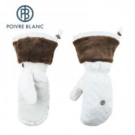 Moufles de ski POIVRE BLANC Blanc Fille