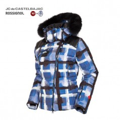 Veste de ski ROSSIGNOL JJC Perfect Down Tartan Femme