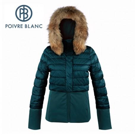 Blouson de ski POIVRE BLANC WO/A Ski Jacket Vert paon Femme