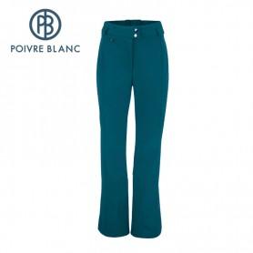 Pantalon de ski stretch POIVRE BLANC WO Pant Bleu Femmes