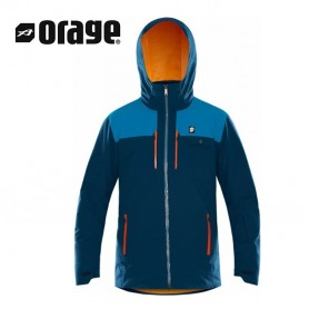Veste de ski ORAGE Alaskan Ultramarine Homme