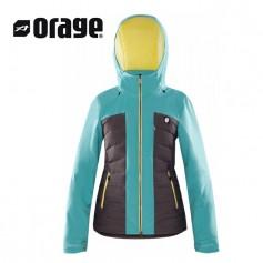 Doudoune de ski ORAGE Jasmine Bleu Femme