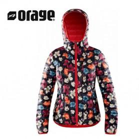 Doudoune compressible ORAGE Link Imprimé Femme