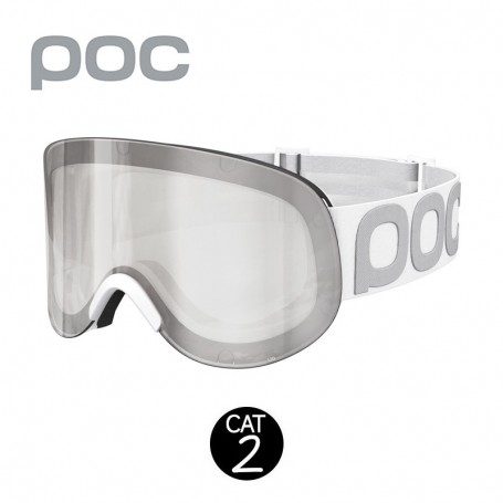 Masque de ski POC Lid 2015 Blanc Unisexe
