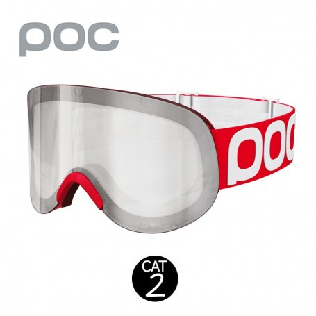 Masque de ski POC Lid 2015 Rouge Unisexe