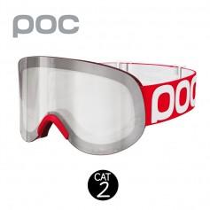 Masque de ski POC Lid Rouge Unisexe