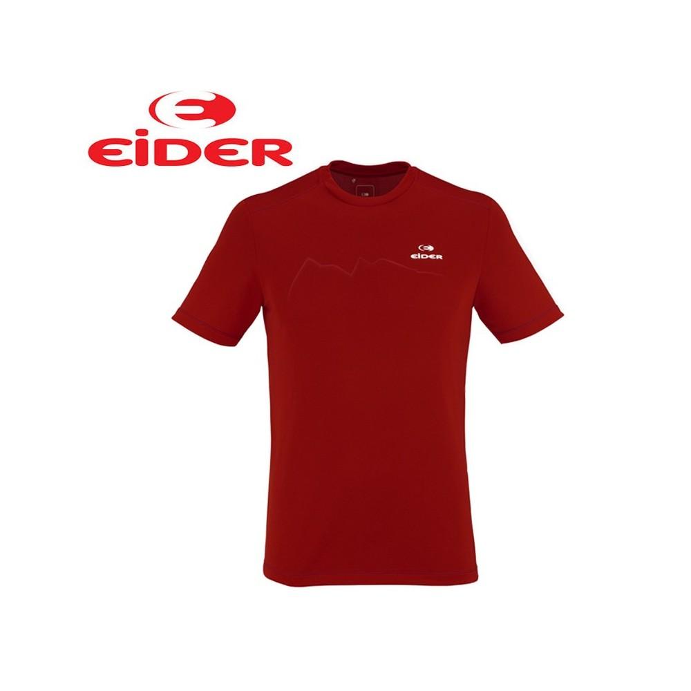 Tee-shirt EIDER Rook Rouge Hommes