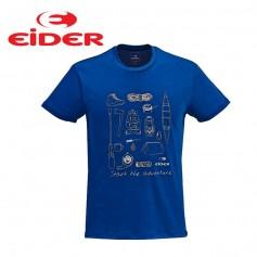 Tee-shirt EIDER Kidston Bleu Hommes
