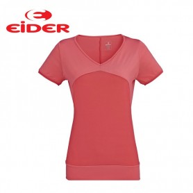 Tee-shirt EIDER Tao Tee Corail Femmes