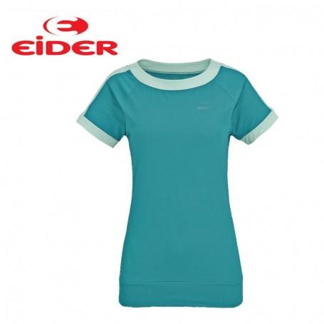 Tee-shirt EIDER Sparkle Tee Bleu Femmes
