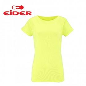 Tee-shirt EIDER Sparkle Tee Jaune Femmes