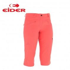 Pantalon 3/4 de randonnée EIDER Spry Capri Corail Femmes