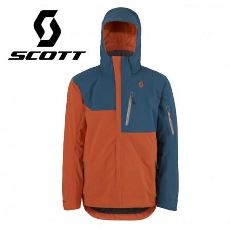 Veste de ski SCOTT Ultimate DRX Bleu / Orange Hommes