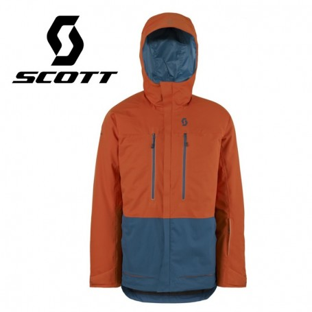 Veste de ski SCOTT Vertic 2L Insulated Orange / Blue Hommes
