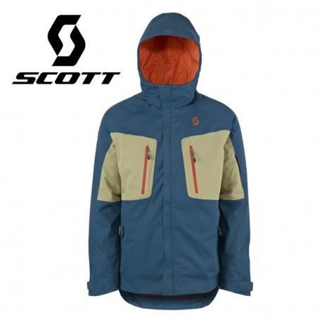 Veste de ski SCOTT Ultimate Dryo Plus Bleu / Beige Hommes