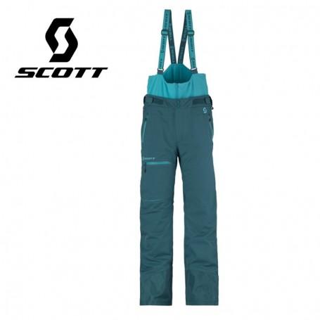 Pantalon de ski SCOTT Vertic 2L Insulated Bleu Homme