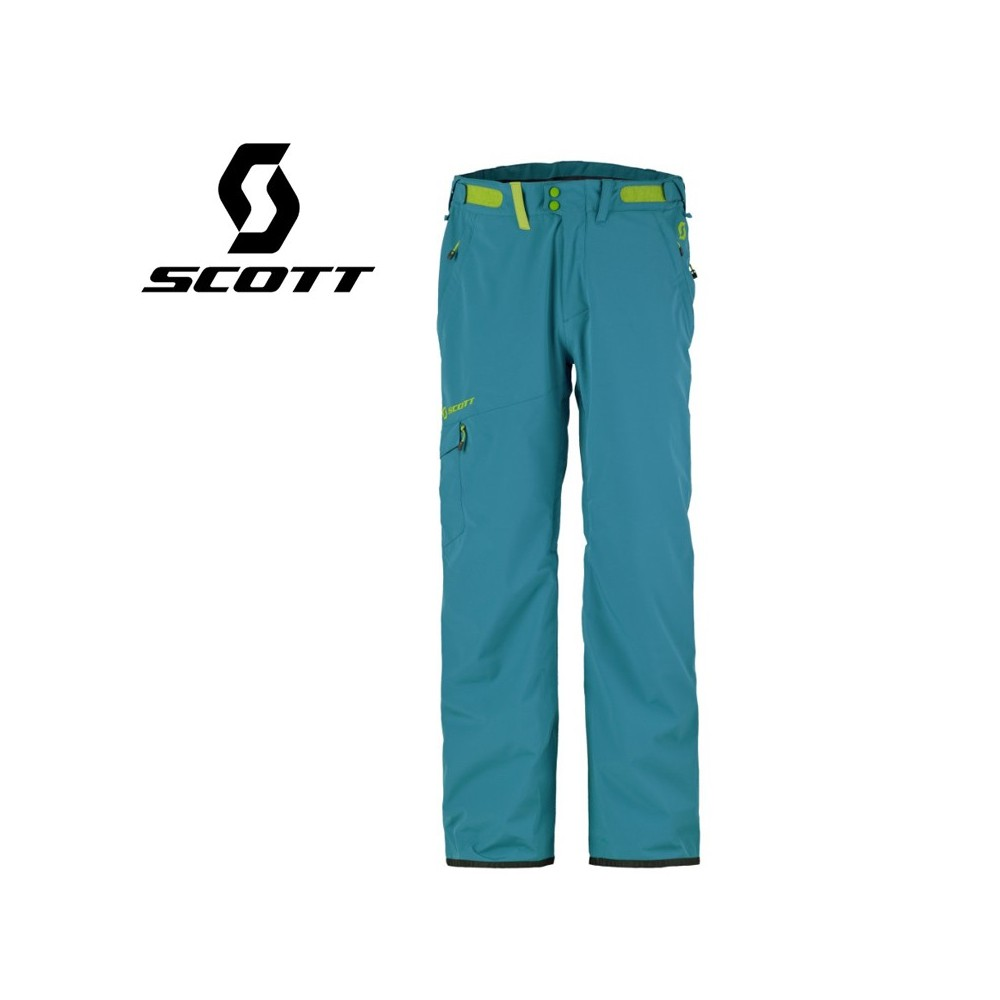 Pantalon de ski SCOTT Terrain Dryo Bleu Maui Homme