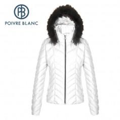 Doudoune POIVRE BLANC WO/A Down Jacket Blanc Femme