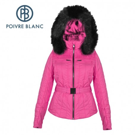 Veste de ski POIVRE BLANC WO/A Ski Jacket Pink Femme
