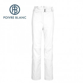 Pantalon de ski stretch POIVRE BLANC WO/C Pant Blanc Femmes