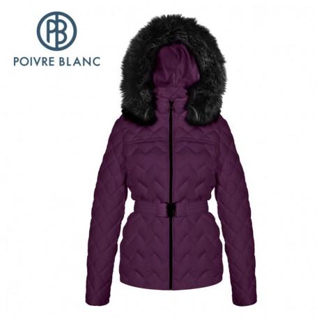 Doudoune POIVRE BLANC Down Jacket Violette Femme