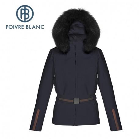 Veste de ski POIVRE BLANC WO/A Stretch ski Jacket Bleu profond Femme