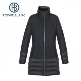 Veste POIVRE BLANC softshell Coat Noire Femme