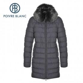 Doudoune POIVRE BLANC WO Down Coat Jeans Black Femme