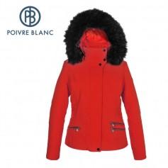 Veste de ski POIVRE BLANC WO/B Ski Stretch Jacket Rouge Femme